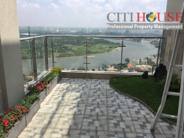 Penthouse Masteri An Phu for rent, excellent view enjoy every moment