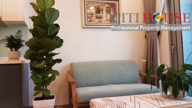 Affordable two bedrooms apartment for rent in Vinhomes Central Park