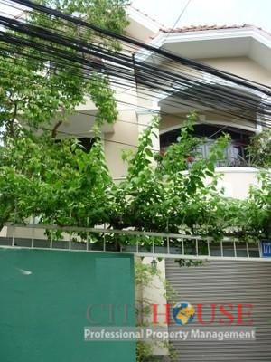 Villa for Rent in Binh Thanh District, Nguyen Van Dau street, 290 sqm, $1500