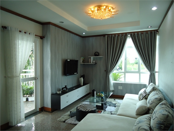 Hoang Anh Gia Lai 1 Apartment for rent in District 7, Nice view, $550
