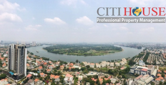 4-bedroom unfurnished apartment with amazing view in Gateway Thao Dien