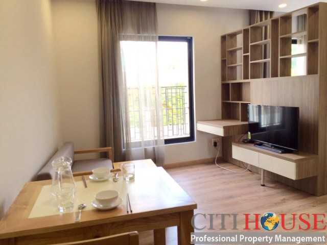 Deluxe serviced apartment for rent in District 01 with nice view