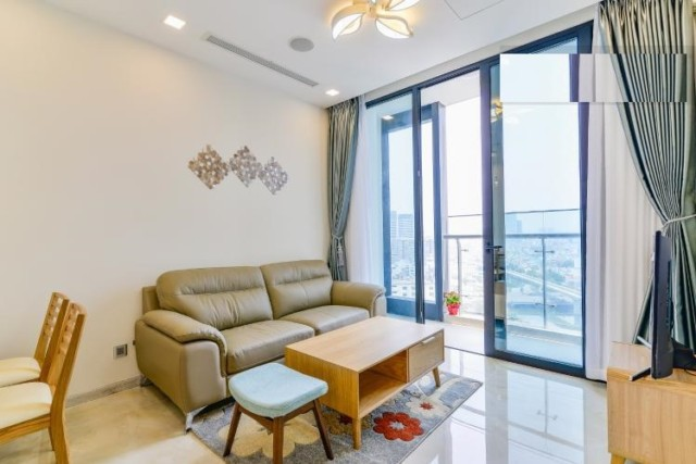 Good rental price two bedrooms apartment for rent in Vinhomes Golden River in District 01