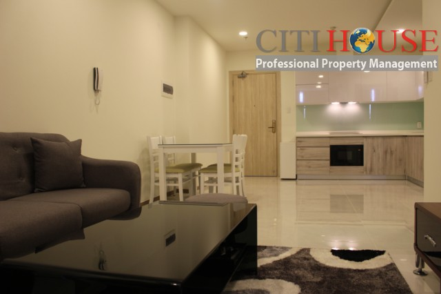 River view two bedrooms apartment for rent in Riva Park in District 4