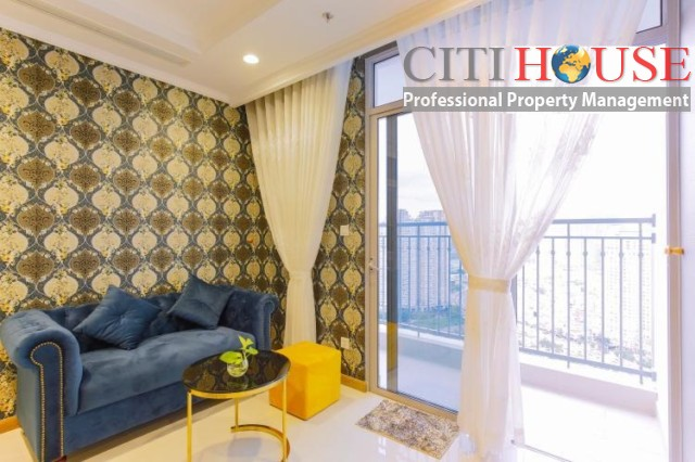 Landmark 3 Two bedrooms apartment for rent in Vinhomes Central Park