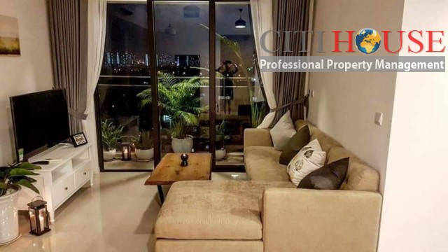Fully furnished two bedrooms apartment for rent in Estella Heights An Phu