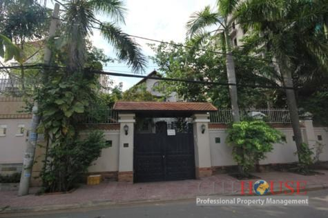Nice Villa for Rent in District 2, Nice Garden and Swimming pool, $3500