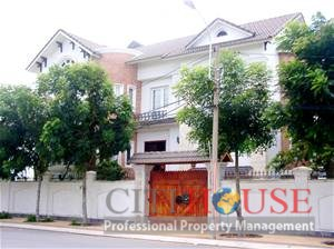 Villa for rent District 2, Thao Dien, 3 floors, Partly furnished,$1700