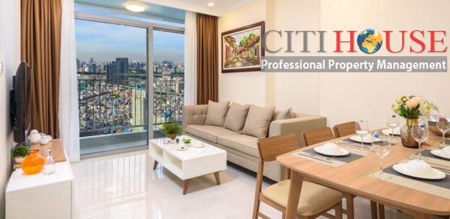 Vinhomes Central Park apartment for rent, super luxury interior design two bedrooms