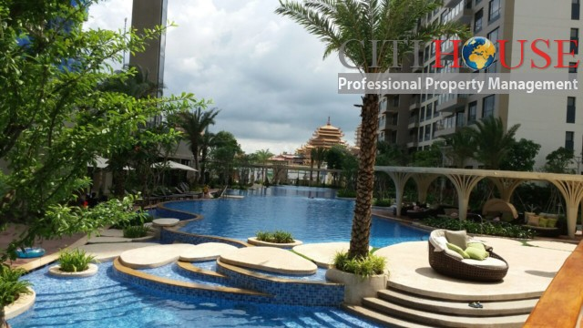 Estella Heights apartment for rent, unfurnished 3 bedrooms with CBD view