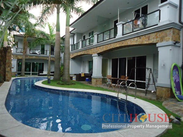 Villa Thao Dien in District 2 for Rent, Quoc Huong st, $3000