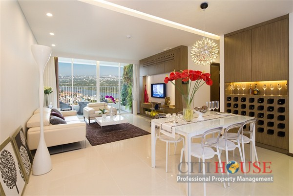 Saigon Airport apartment for lease, 3 beds, high floor