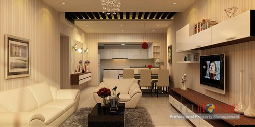 Saigon Pearl apartment for rent, 11th floor, fully furnished, Sapphire, $1850
