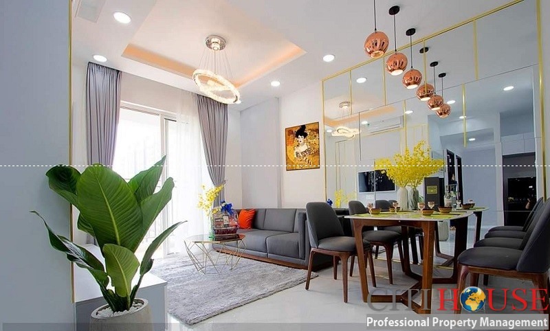 Sunrise Riverside Two bedroom fully furnished apartment on low floor with stunning design