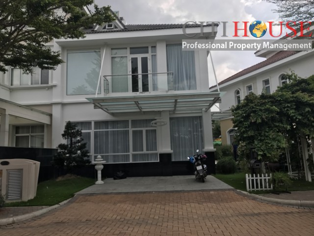 Luxurious Chateau Villa for rent in Phu My Hung, District 07