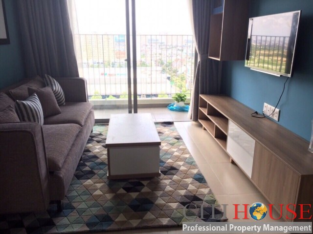 One bedroom apartment for rent with balcony in Masteri Thao Dien