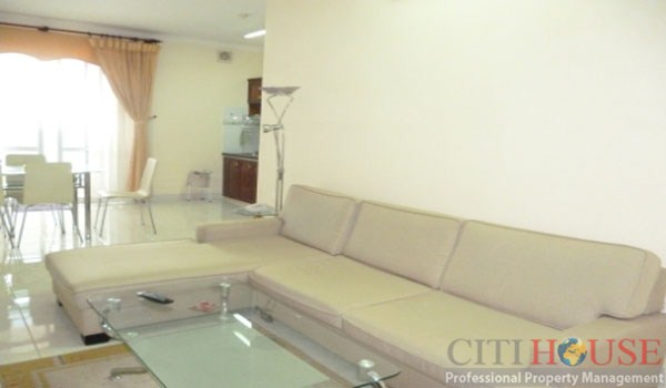 River Garden Apartment for Rent, 153 sqm, Nice river view balcony, $1550