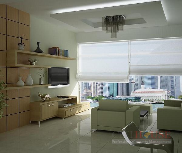 Samland Apartment for Rent in Binh Thanh District, Modern Design, $800