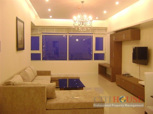 Saigon Pearl for lease 3 beds, city & river view, Sapphire, $1700