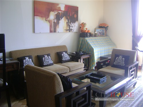 The Manor apartment for rent in Binh Thanh, 3 beds,12th floor, $1350