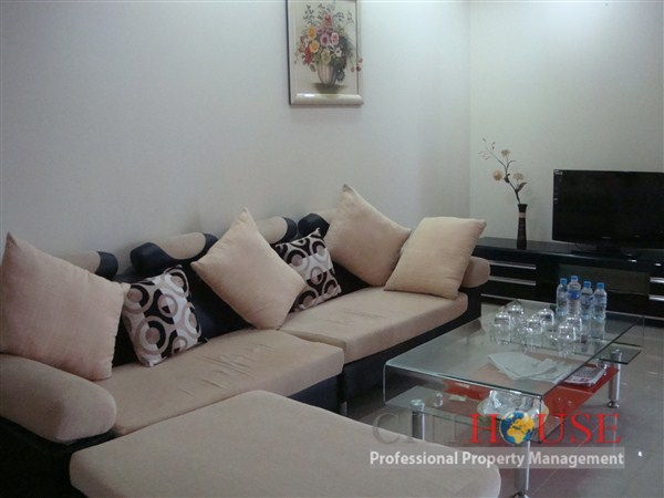 An Khang for Rent in District 2, 18th floor, Nice furnishings, $550