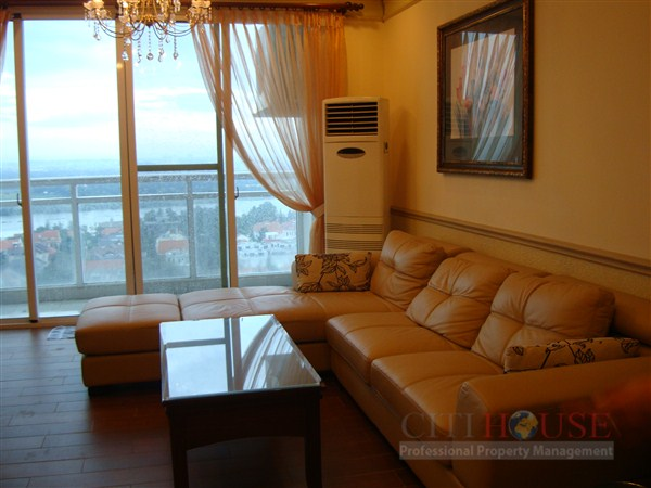 Apartment for rent in District 2, Fideco Riverview, Fully furnished, $800