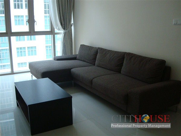 The Vista Apartment for rent in District 2, 17th floor, Pool view, $900