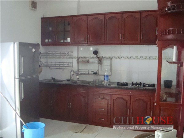 Central Garden Apartment for Rent, District 1, 2 beds, 10th
