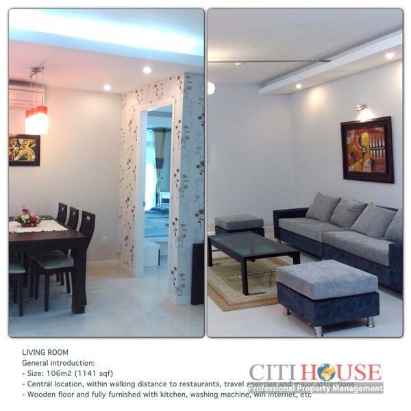 International Plaza Aparment for rent in District 1, Full package, $1500