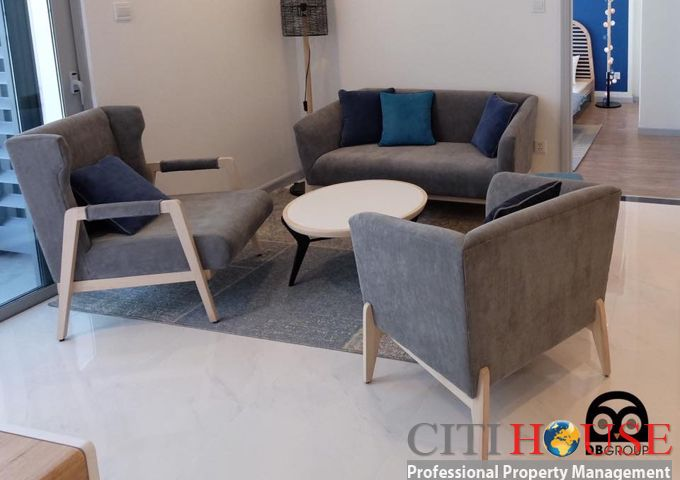 Vinhomes Central Park apartment for rent, very beauty design of 2 bedroom