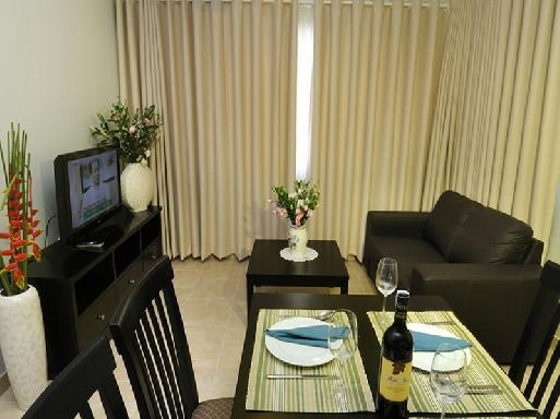 Estella Apartment for rent in District 2, 8th floor,104 sqm, fully furnished, $1000
