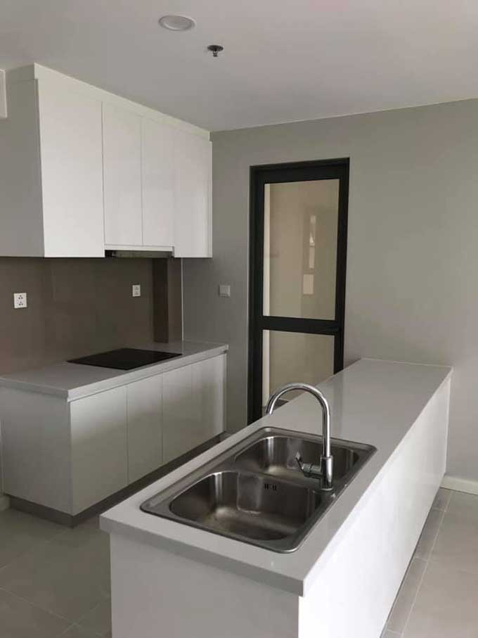 Unfurnished two-bedroom apartment for rent in Masteri An Phu