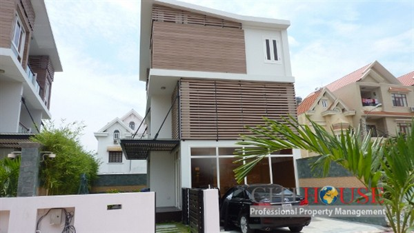 Villa Thao Dien Compound for rent, Luxury Furnished, $3000