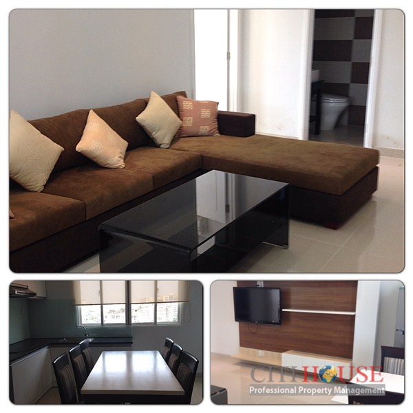 Serviced apartment for rent in International Plaza, 81 sqm, Best Service,$1300