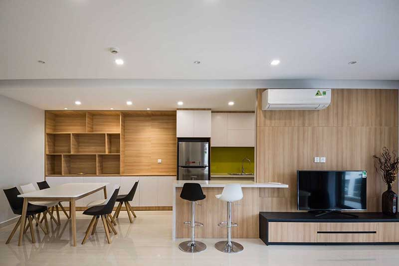 River Park apartment for rent with good price, District 7