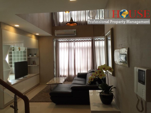 Penthouse for rent in Sky Garden in Phu My Hung Center