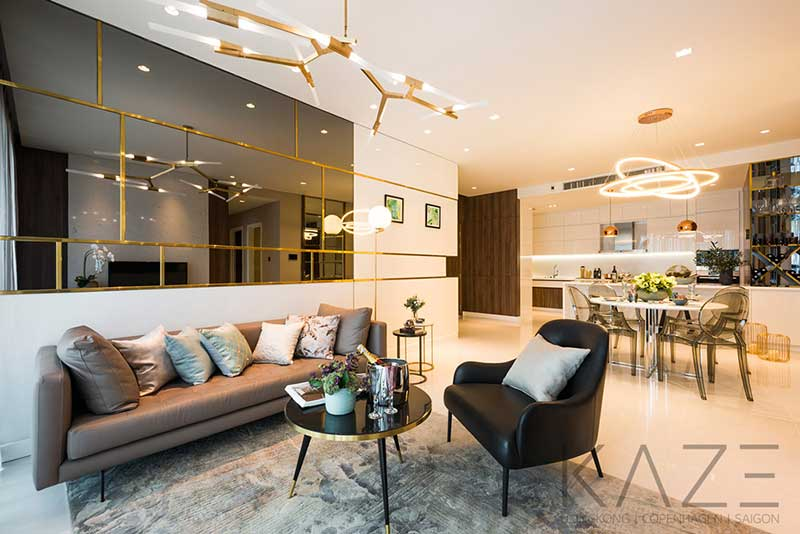 Two Bedroom for rent at Golden House Tower at Sunwah Pearl