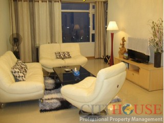 River Garden Apartment for rent, District 2, 3 beds, 140 sqm, Modern Furniture, $1400