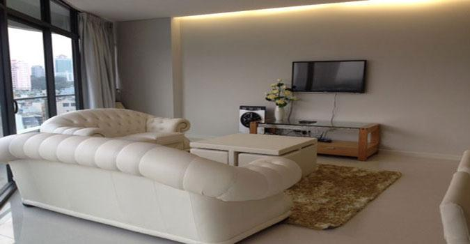 City Garden 2 beds for rent in Binh Thanh Dist, nice city view, $1200