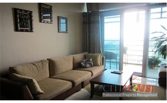 Sailing Apartment for Rent in District 1, Luxury Furniture, Open Kitchen, $1900