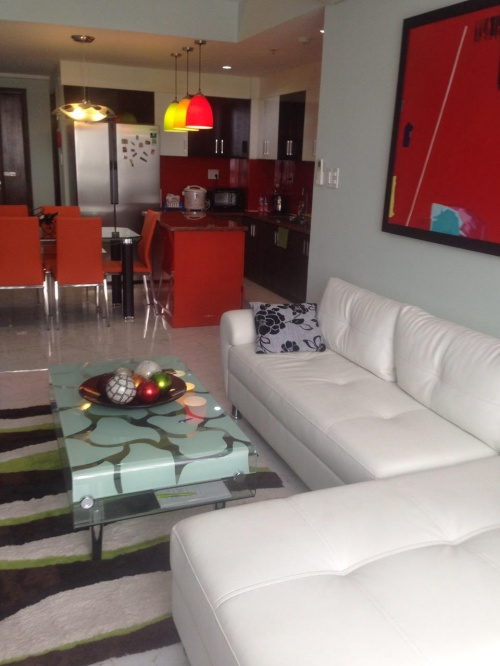 Tropic Garden for lease, Nice and Warm style, fully furnished, High floor
