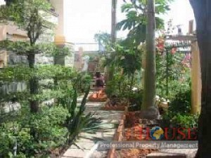 Rental Villa in Thao Dien Area, Dist 2, 400 sqm, garden & swimming pool, $2800