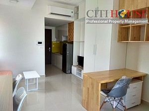 RiverGate Officetel Studio apartment for rent next to District 1, brand new and smart design
