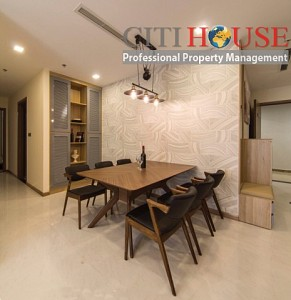 Amazing view three bedrooms apartment for rent in Vinhomes Central Park