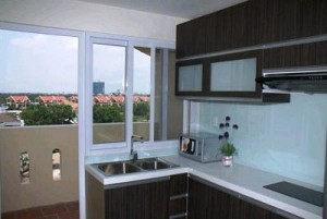 An Phu Plaza apartment for rent in District 3, Nice design, 2 beds, $1800