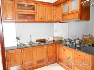 Apartment for rent in B1 Truong Sa, 2 beds,Near the Zoo, $350