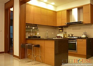 Apartment for rent in District 2, Fideco building, high floor, $900