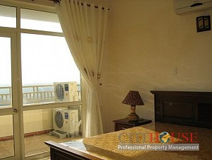 Apartment for rent in District 2, An Thinh Building, 90 sqm, $450