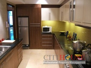 Apartment for rent in Phu My Hung, Garden Court, 2 beds, $1000
