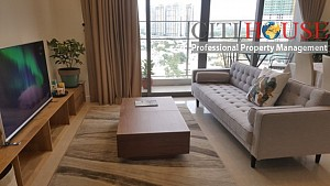 Apartment for rent in The Nassim Thao Dien; luxurious two bedroom with nice design